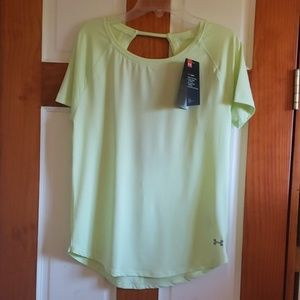 Under Armour light green heat gear size xs